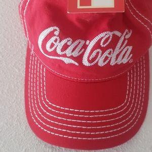 Red coca-cola hat